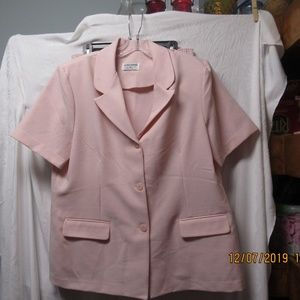 Alfred Dunner size 16 skirt suit